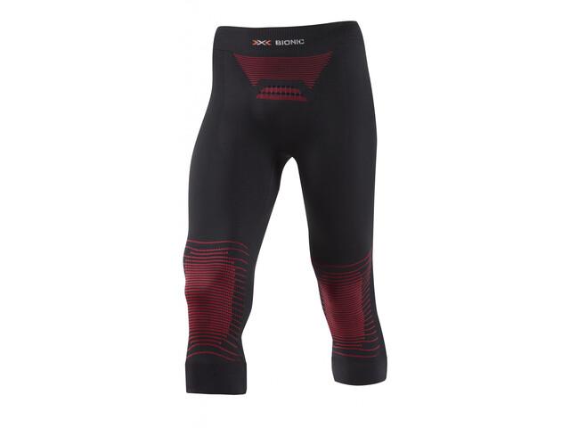 X-Bionic Energizer MK2 Medium Housut Miehet, black/red